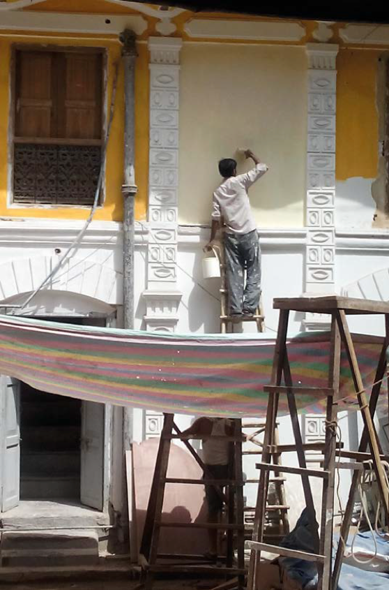 Engagements in the Courtyard: Restoring a Haveli in Old Delhi